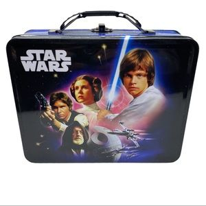 2010 Star Wars A New Hope Embossed Metal Lunch Box